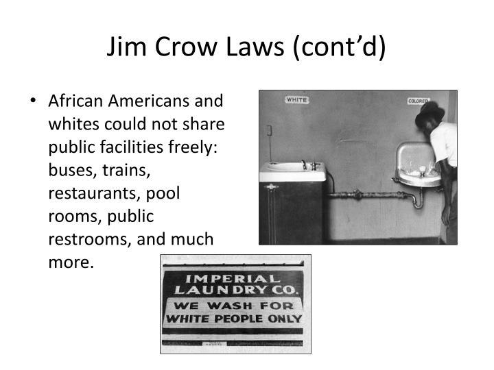 jim crow laws to kill a mocking bird The theme of racism in to kill a mockingbird the ruling of plessy versus ferguson and the jim crow laws that's why it's a sin to kill a mocking bird.