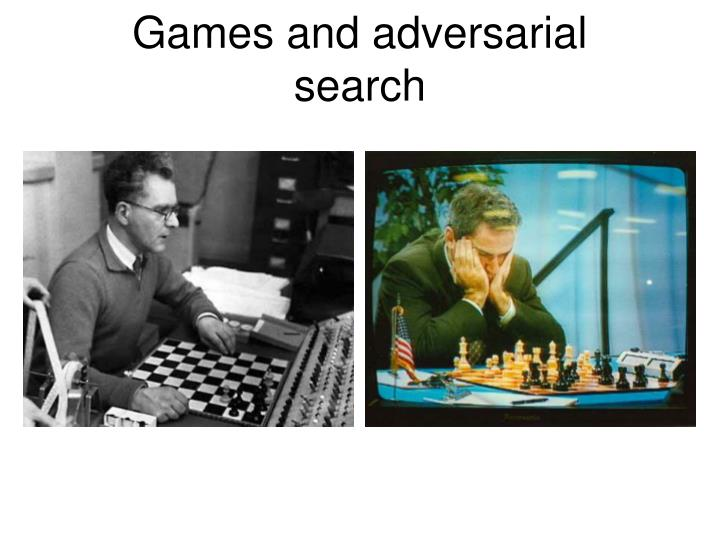 games and adversarial s earch n.