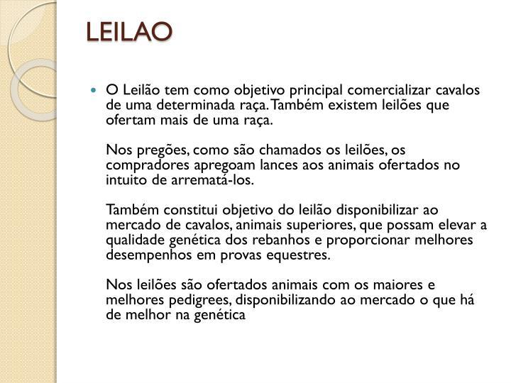 LEILAO