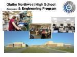 olathe northwest high school aerospace engineering program