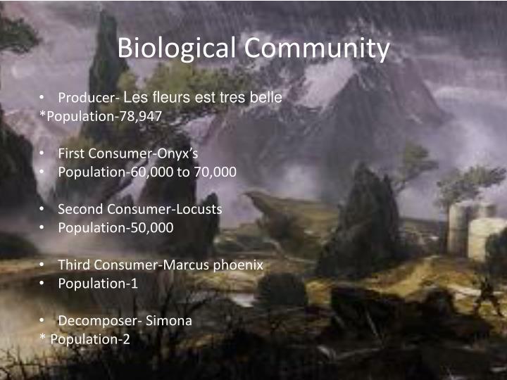 Biological community