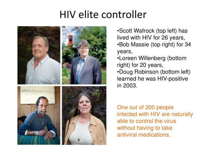HIV elite controller