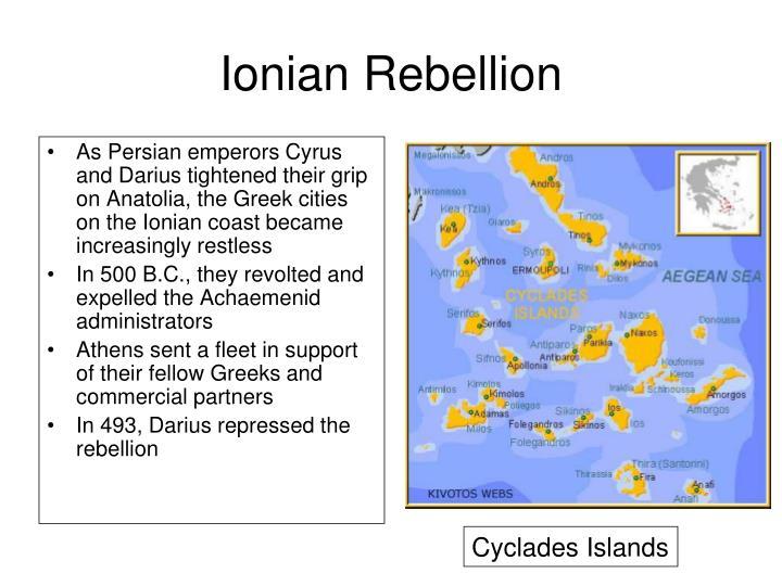 Ionian Rebellion