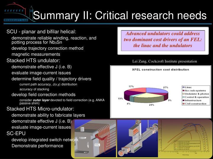 Lei Zang, Cockcroft Institute presentation