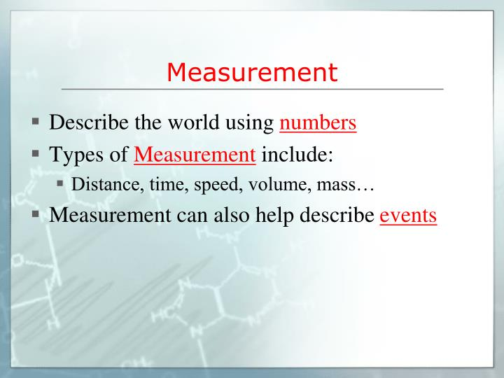 Measurement1