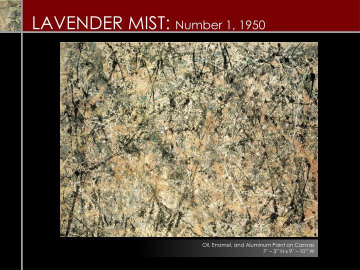 Lavender mist number 1 1950