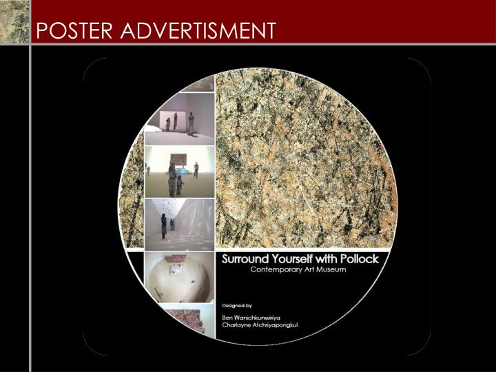 POSTER ADVERTISMENT