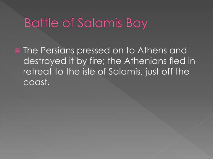 Battle of Salamis Bay