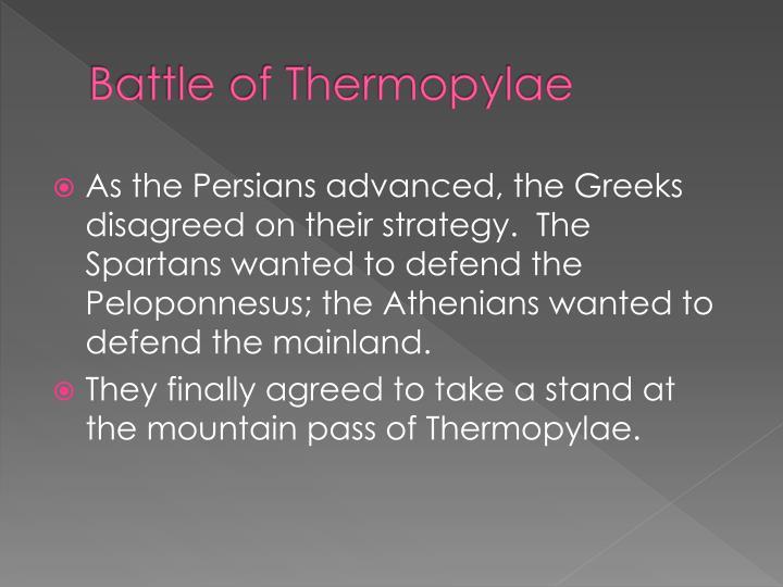 Battle of Thermopylae
