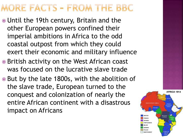 More Facts – From the BBC