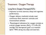 treatment oxygen therapy
