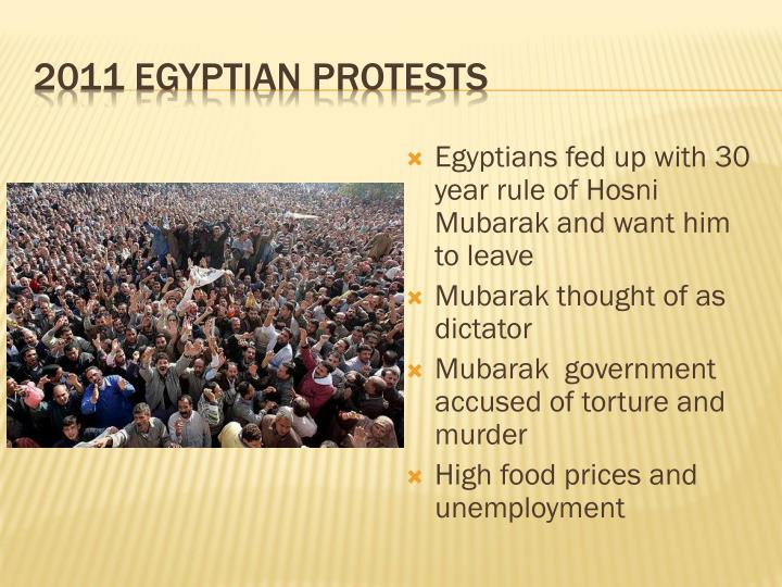 2011 Egyptian protests