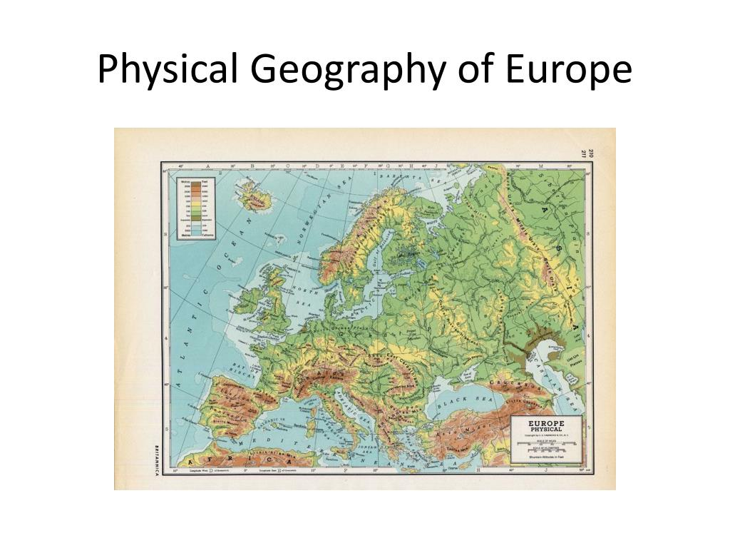 Image of: Ppt Physical Geography Of Europe Powerpoint Presentation Free Download Id 1919624