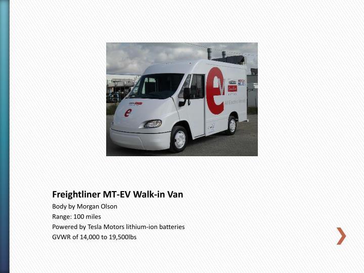 Freightliner MT-EV Walk-in Van