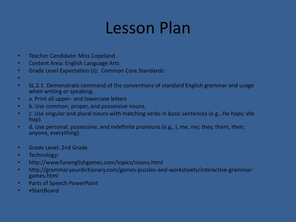 ppt lesson plan powerpoint presentation id 1920061