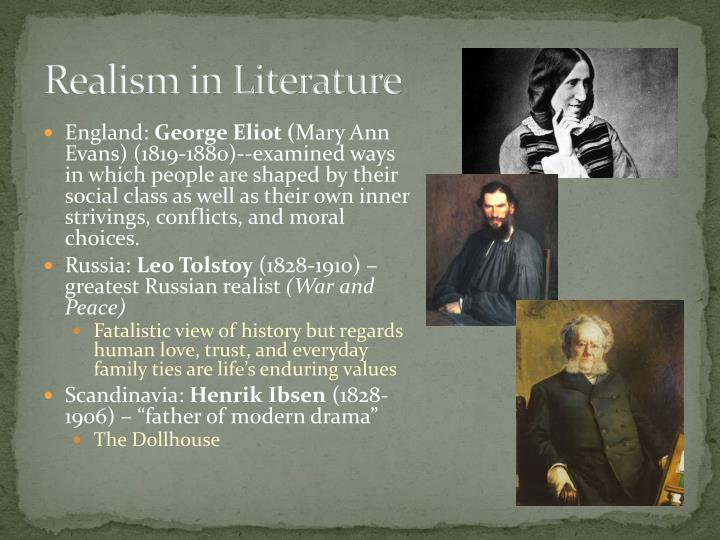 Examples of Realism in Literature