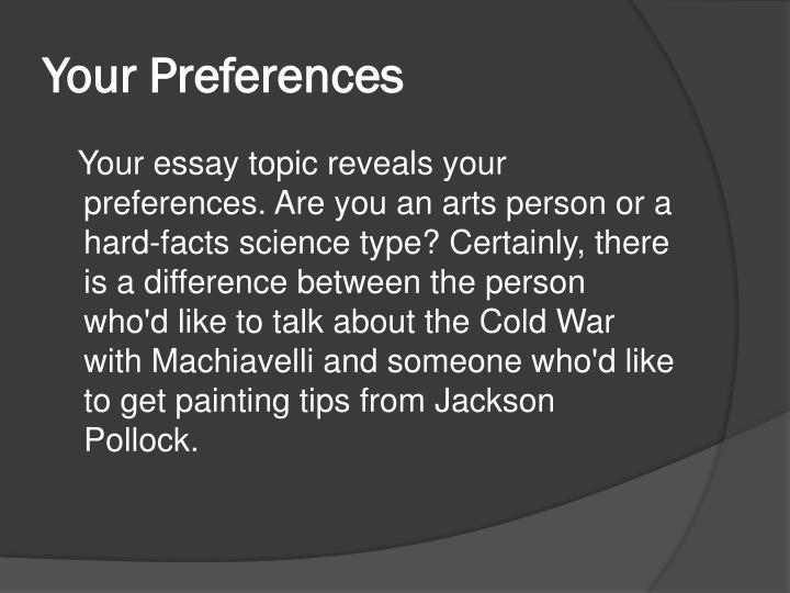machiavelli essay topics
