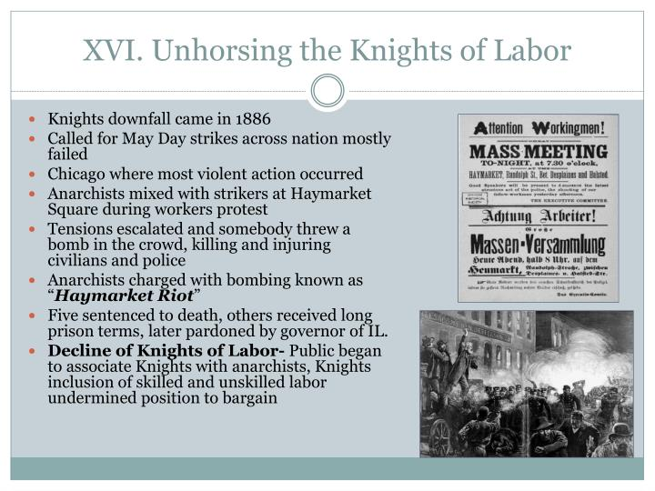the successes and failures of the knights of labor