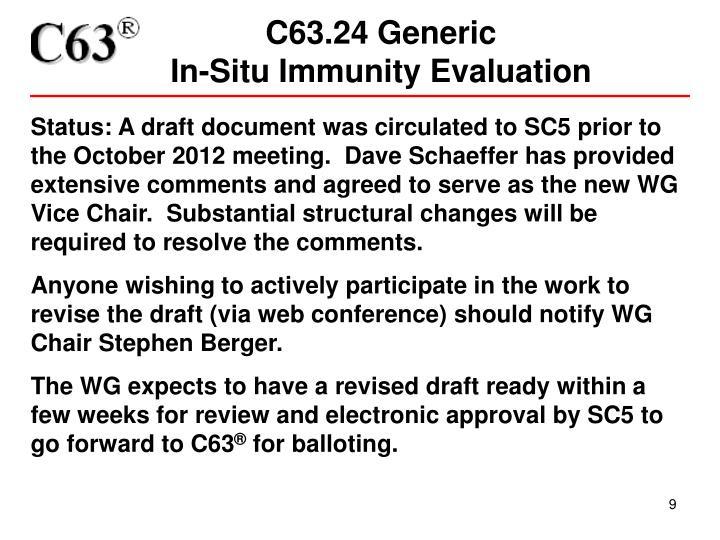 C63.24 Generic