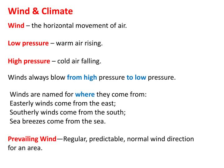 Wind & Climate