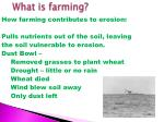 what is farming