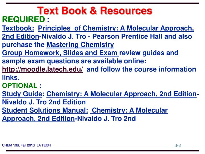 Text book resources