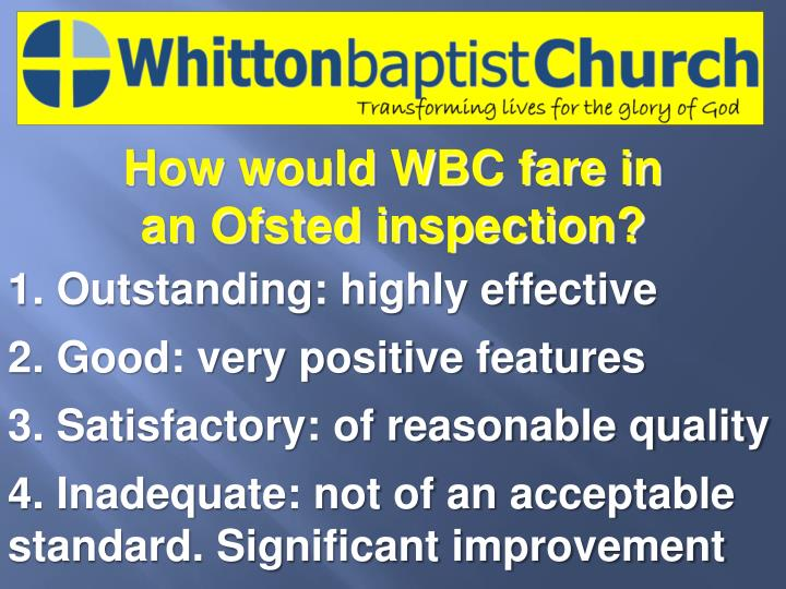 How would WBC fare in
