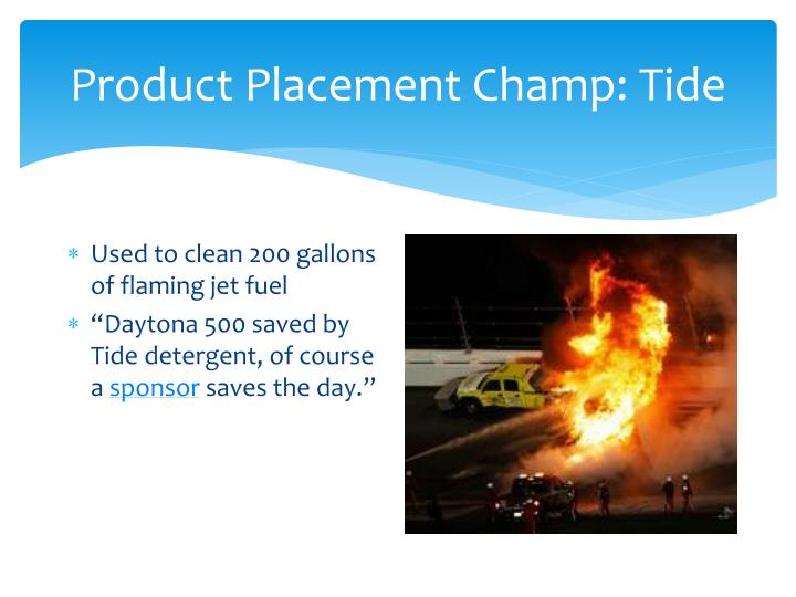 Product Placement Champ: Tide