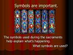 symbols are important