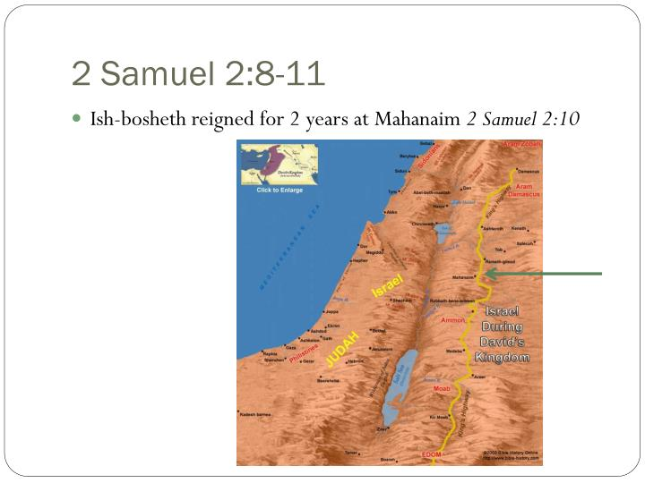 2 Samuel 2:8-11