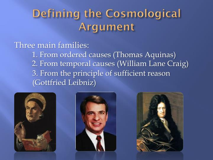 thomas aquinas cosmological argument essay Aquinas - the cosmological argument for the existence of god the cosmological argument stems from the idea that the world and everything that is in it is dependent on something other than itself for its existence.