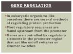 gene regulation1