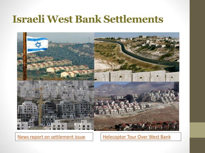Israeli West Bank Settlements