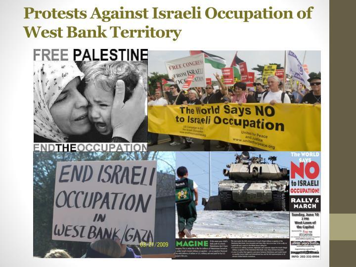 Protests Against Israeli