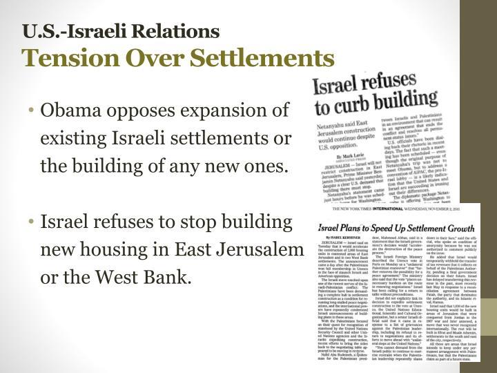 U.S.-Israeli Relations