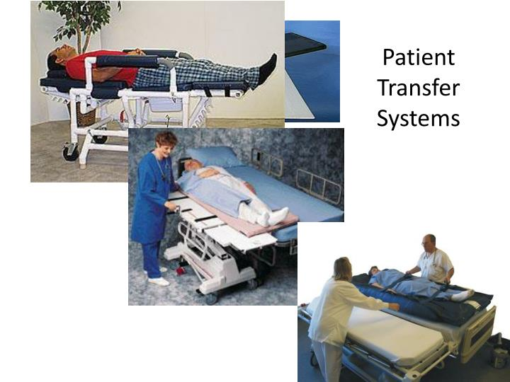 Patient transfer systems
