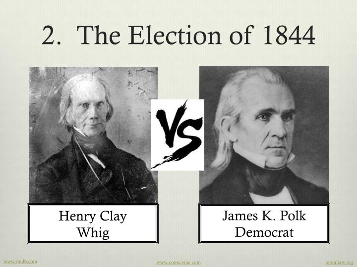 the annexation of texas by president james polk President james k polk would appoint him unites states attorney for the district of massachusetts in 1846, and he later served in both the house and senate representing his home state in 1844 rantoul was secretary to the convention committee of the democratic national convention that nominated polk.