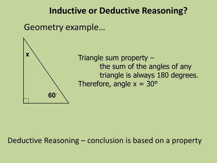 PPT - 2.4 Deductive Reasoning PowerPoint Presentation - ID:1921961