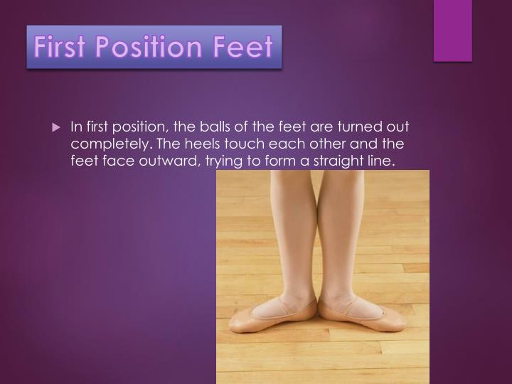 First Position Feet