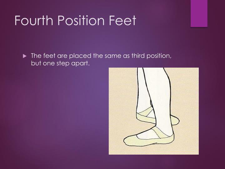 Fourth Position Feet