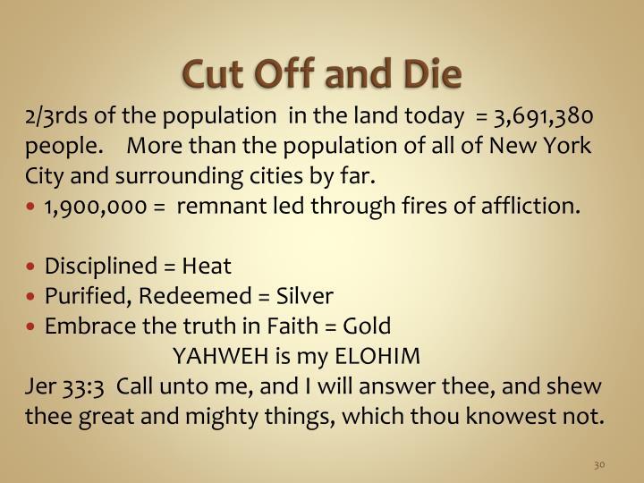 Cut Off and Die