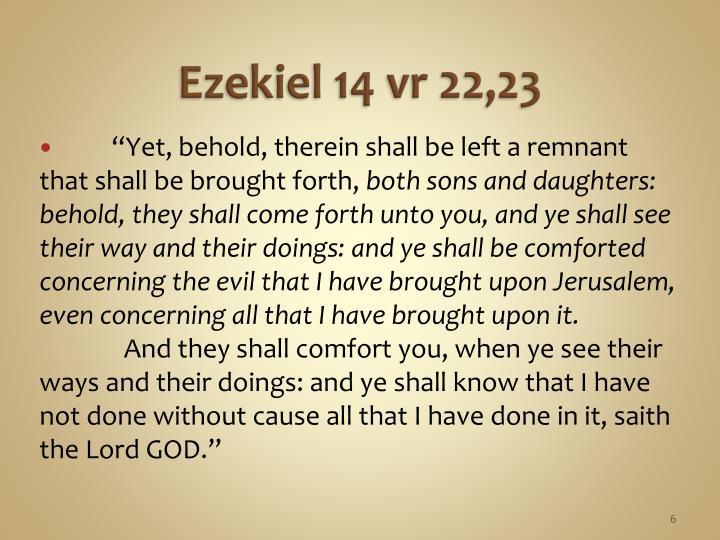 Ezekiel 14