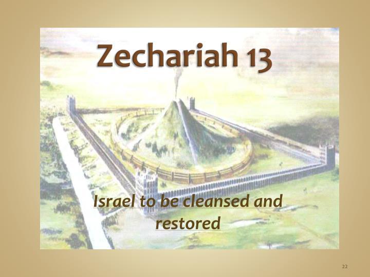 Zechariah 13