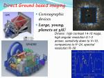 direct ground based imaging