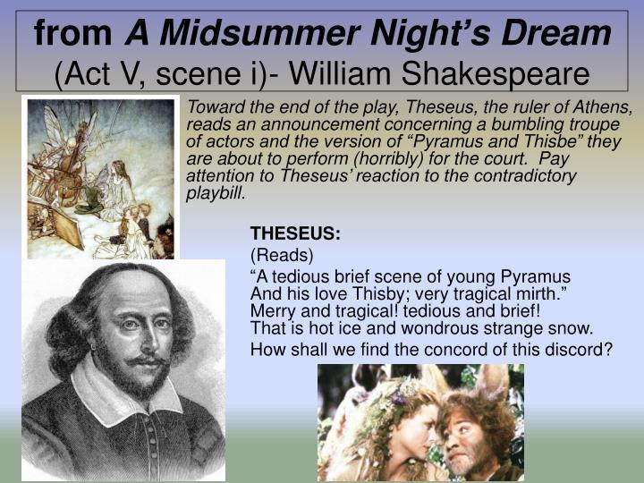 a midsummer s night dream act 5