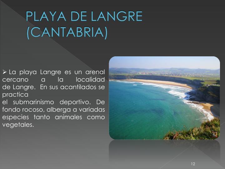 PLAYA DE LANGRE (CANTABRIA)
