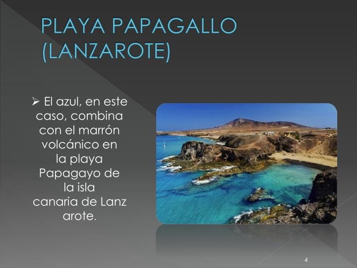 PLAYA PAPAGALLO (LANZAROTE)