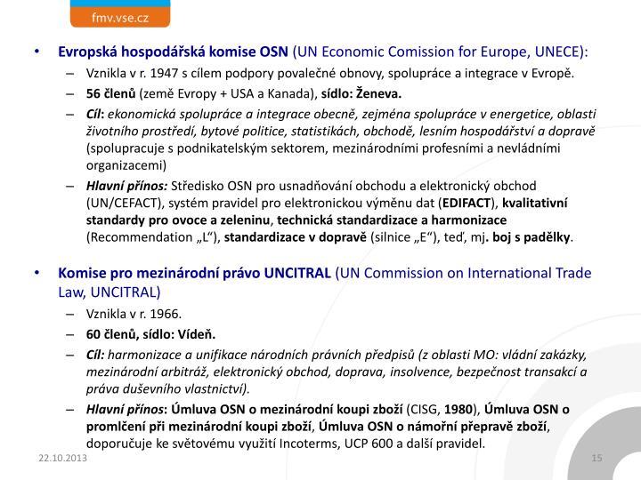 Evropská hospodářská komise OSN