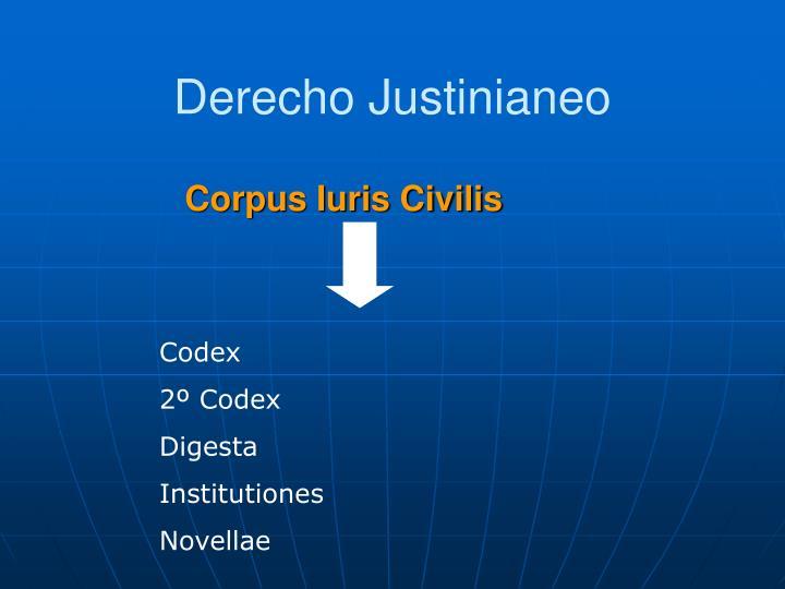 Derecho Justinianeo