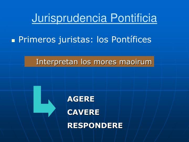 Jurisprudencia Pontificia